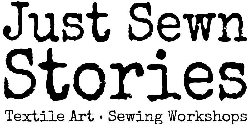 Just Sewn Stories Logo